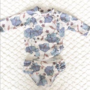 Baby Girl Newborn Two Piece Swimsuit